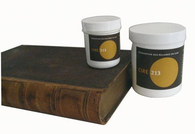Wax Cire 213 Restoration and Museum Care for Leather Artifacts