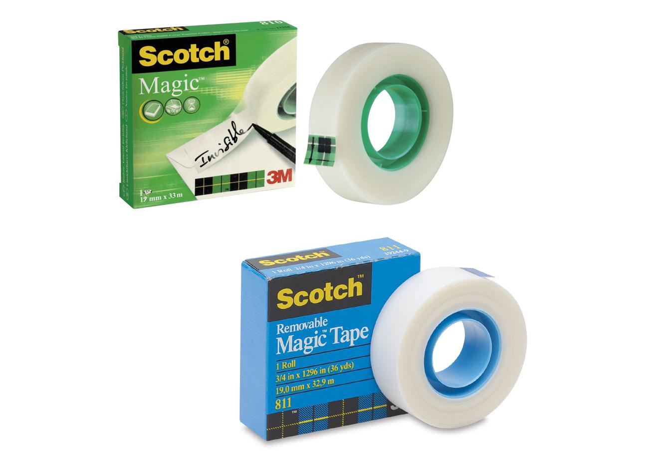 3m Original Mending Tissue 19mm X 33m Your Store Of 1 Box Magic