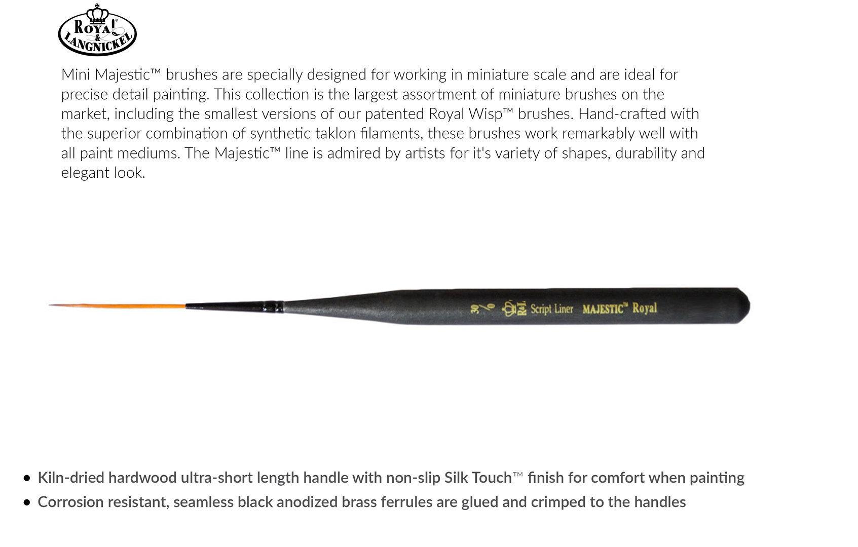 Royal Mini Script Liner Brush