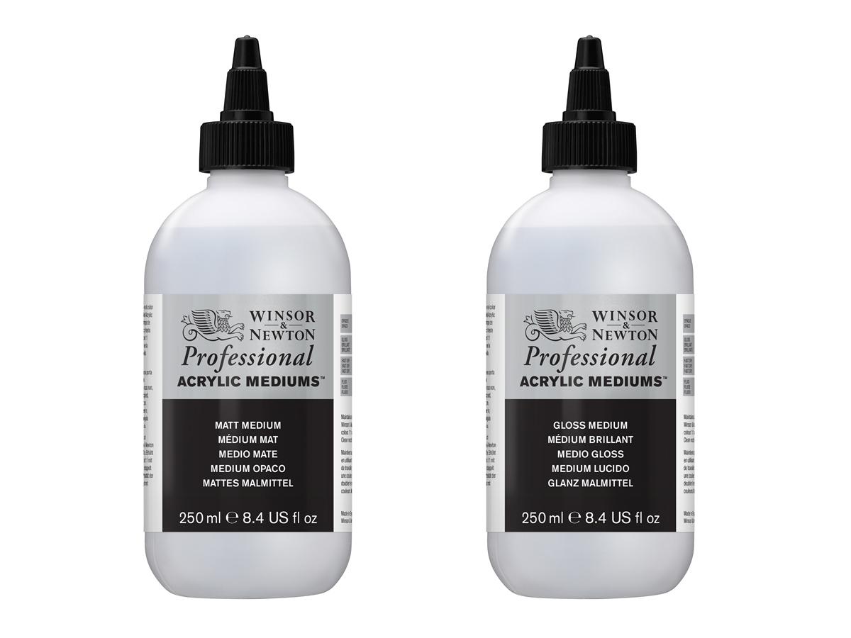w n professional acrylic medium 250ml your store of