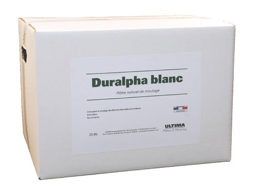 Casting Plaster Duralpha blanc 6KG - Your store of