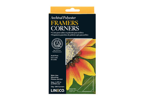 Lineco Archival Framers Corners 3,5cm