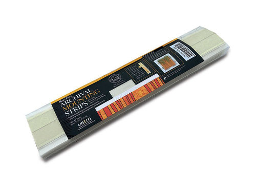 Lineco See-Thru Polyester Mounting Strips 30cm